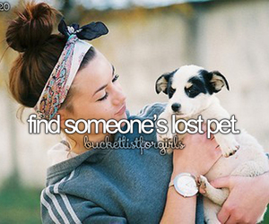 pet and bucket list image