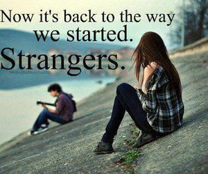 strangers, quotes, and boy image
