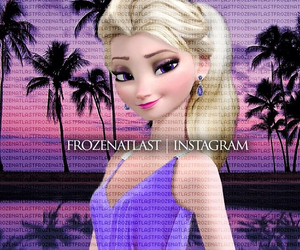 american, frozen, and elsa image