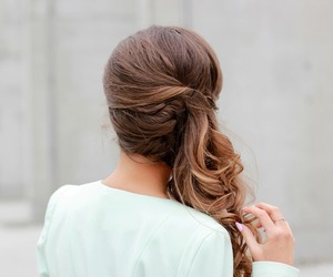 hair, fashion, and pretty image