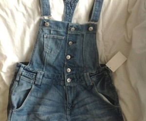 clothes, jeans, and overalls image