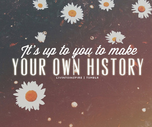 history, uote, and inspire image