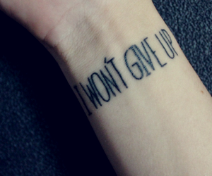 hope, never give up, and song image