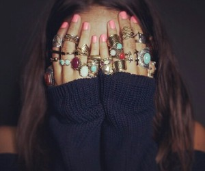 hipster and rings image