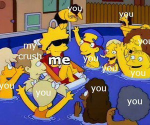 me, simpsons, and you image