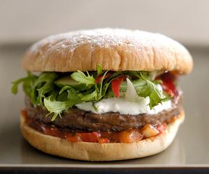 delicious, hamburger, and photography image
