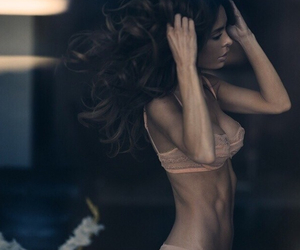 abs, hair, and motivation image