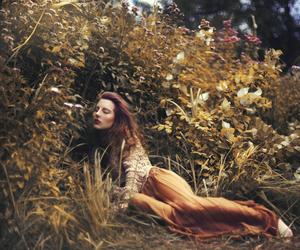 fall, girl, and photography image
