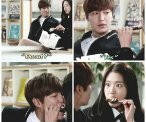 funny, lee min ho, and k drama image