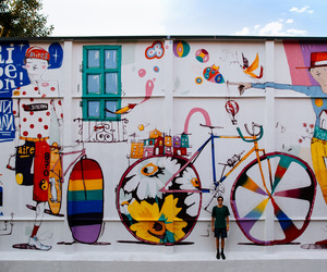 street art, graffity, and bicycle film festival image