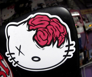 hello kitty and drop dead image