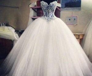 Blanc, wedding, and weddingdresses image