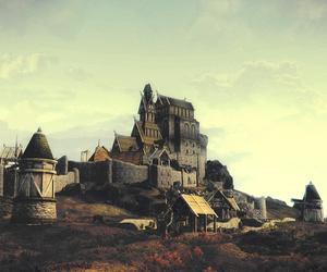 the elder scrolls, whiterun, and skyrim image