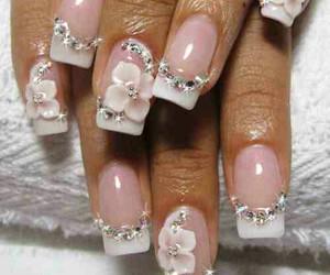 tumblr, wedding nail, and 3d nail art tumblr image
