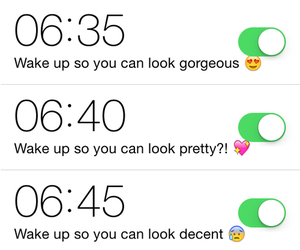 alarm clock, lol, and wecker image