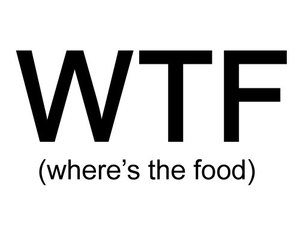 haha, wtf, and (where's the food) image