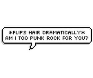 overlay, transparent, and punk rock image