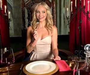 tvd, candice accola, and the vampire diaries image