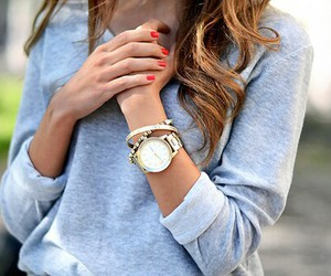 beauty, clothes, and nails image