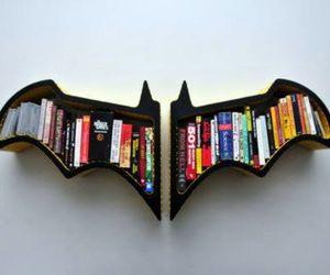 batman, bats, and books image