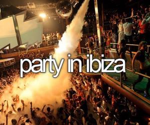 ibiza, party, and bucketlist image