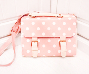 bag, pink, and cute image