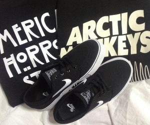 arctic monkeys, hipster, and nike image