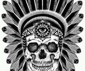 skull and tattoo image