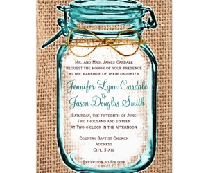 wedding, rustic wedding, and personalized invitations image