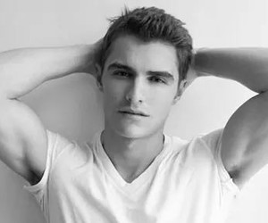 black&white, guy, and sexy image