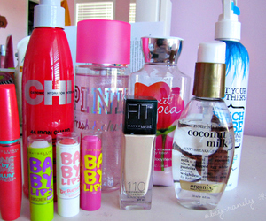 pink, baby lips, and Victoria's Secret image