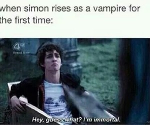 the mortal instruments, funny, and lol image