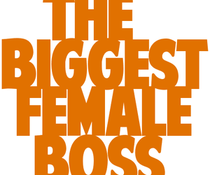 boss and text image