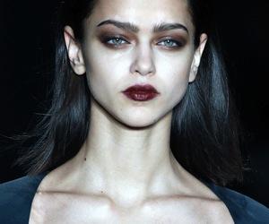 model, fashion, and makeup image
