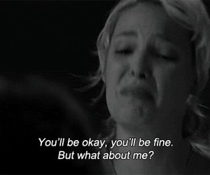 quote, broken, and cry image