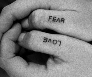 couple, love, and fear image