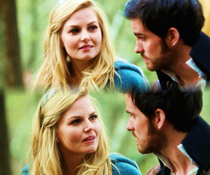 once upon a time, ouat, and captain swan image