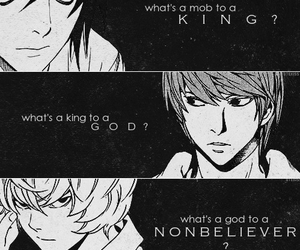death note, near, and L image