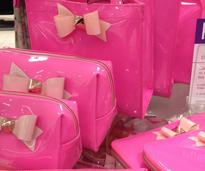 pink, bag, and ted baker image