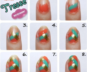 nails, diy, and nail art image