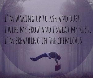 imagine dragons, radioactive, and Lyrics image