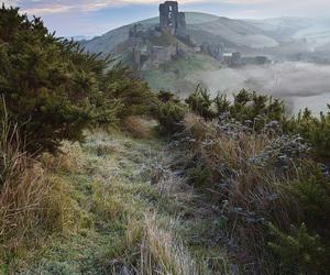 landscape, nature, and ruin image