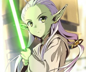 master yoda, star wars, and young image