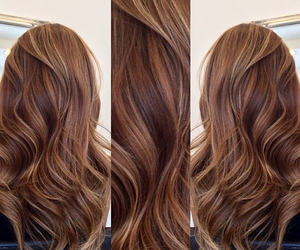 hair, ombre, and highlights image