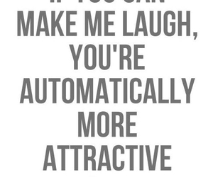 laugh, quotes, and attractive image