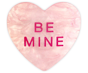 be mine, heart, and pink image
