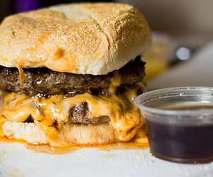 cheese, gorgeous, and hamburger image