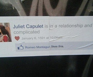 facebook, juliet, and romeo image