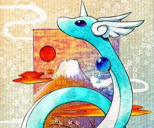 pokemon, water, and dragonair image