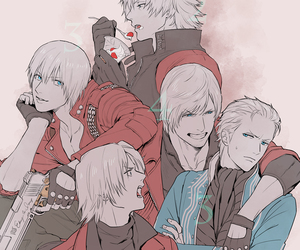 Dante, devil may cry, and dmc image